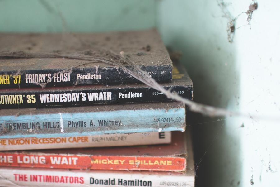 abandoned books,