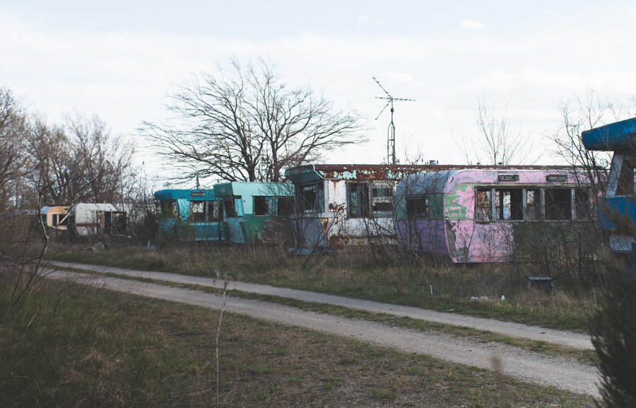 abandoned, urbex, trailers, abandoned trailer park