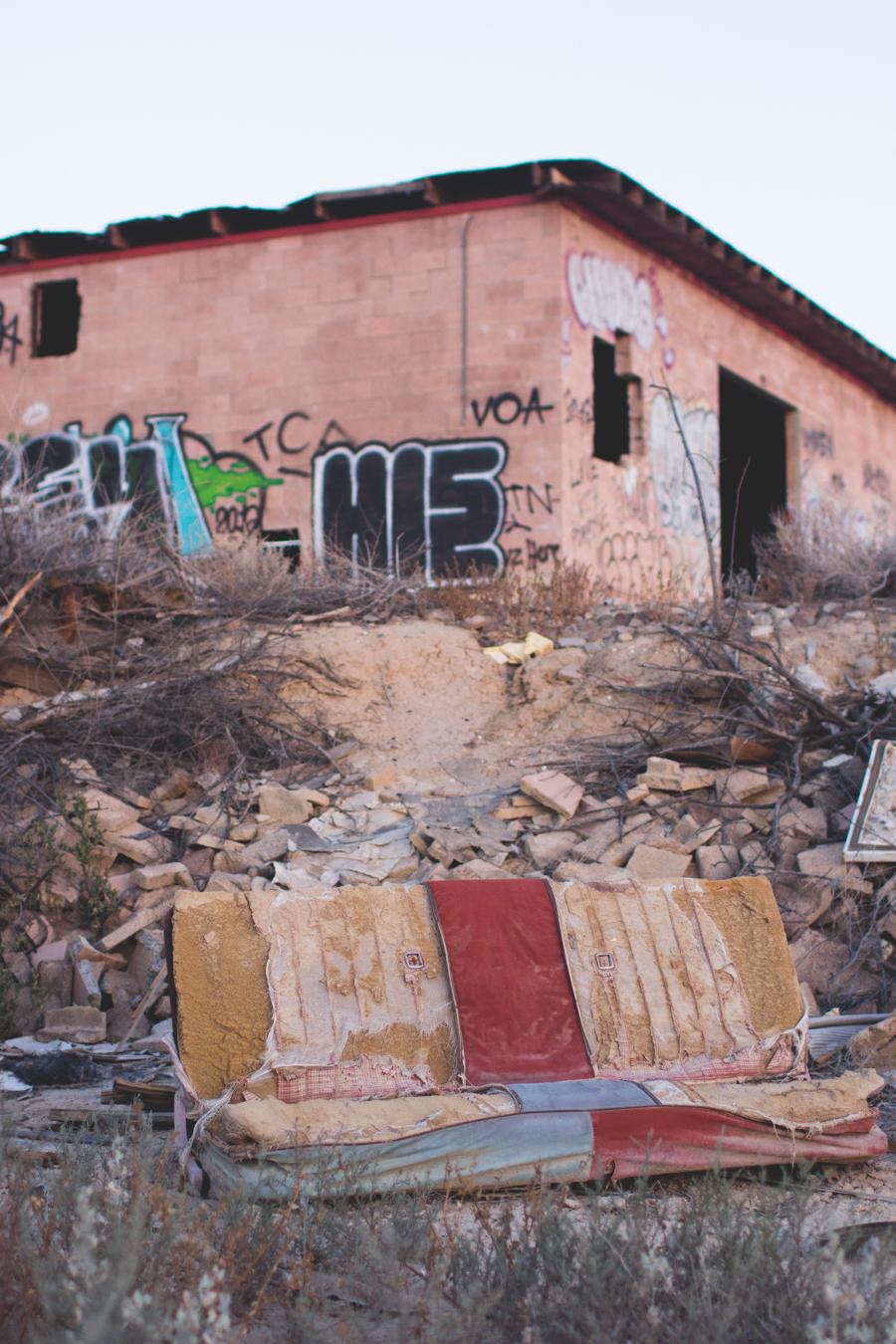 salton sea, abandoned building,