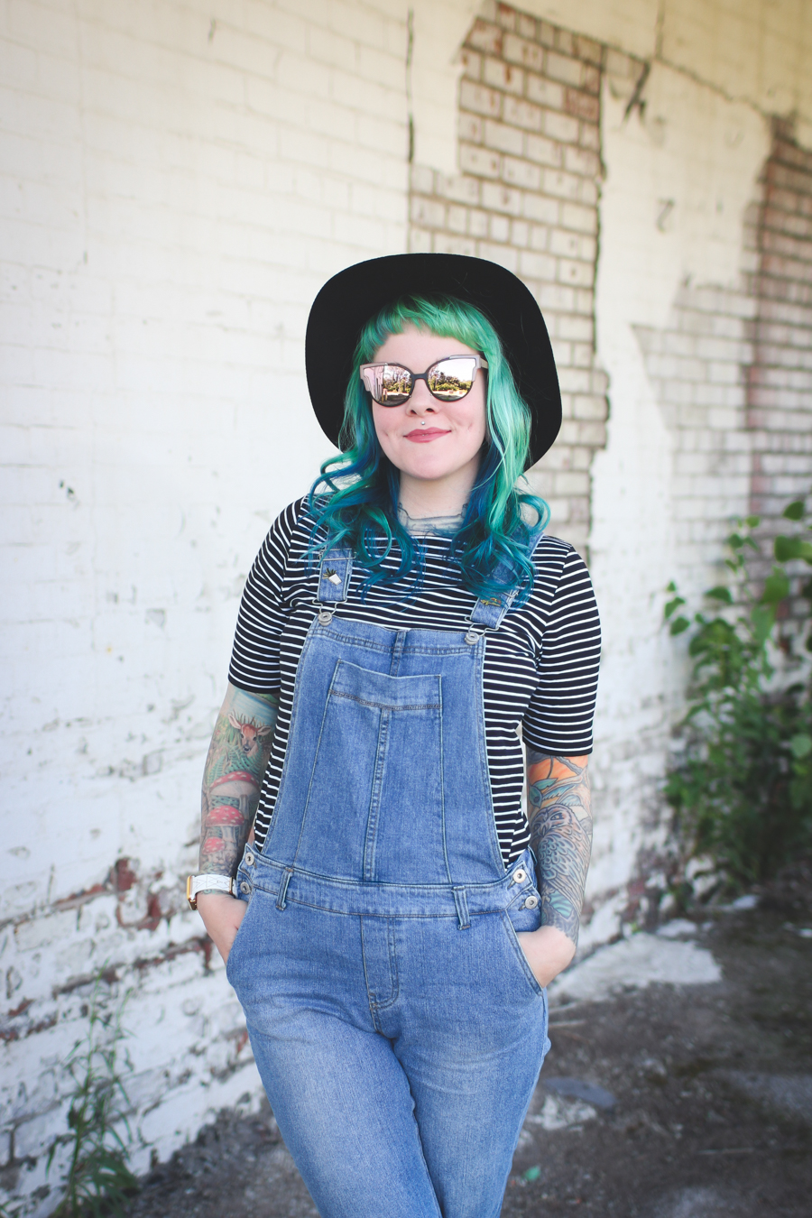 cleveland fashion blogger, overalls, what I wore