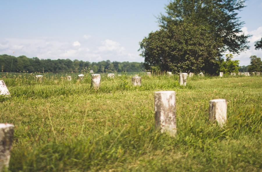 headstone, numbered headstones