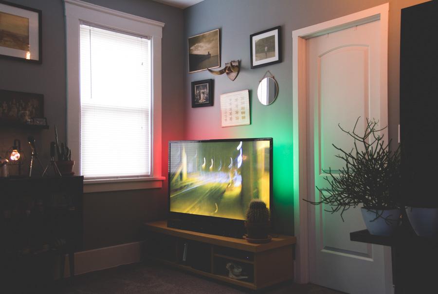 cheap lighting, light solutions, LED strip for tv