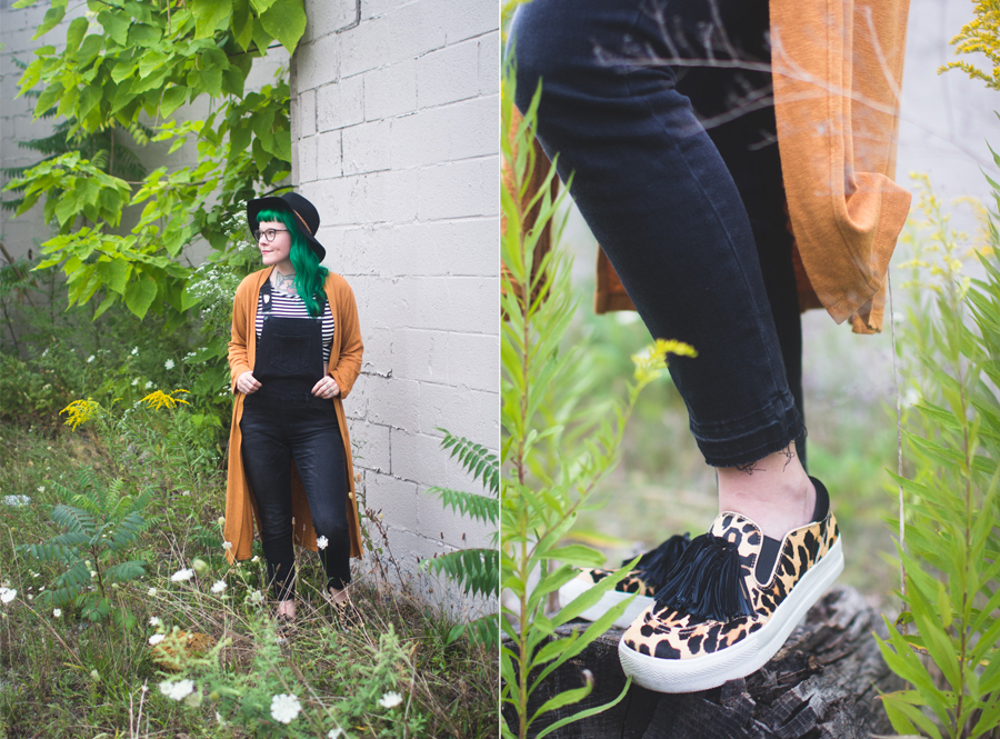 overalls, the dainty squid, cleveland fashion blog