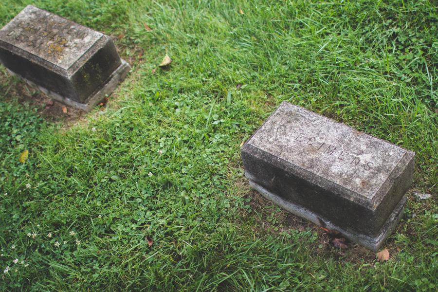 headstone, gravemarker, State of Ohio Asylum for the Insane Cemetery, institutional cemetery, columbus