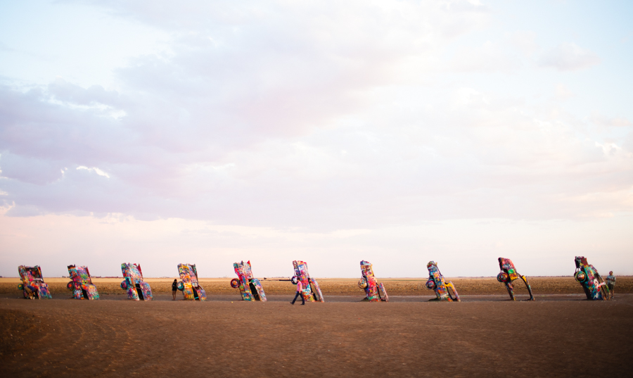 Cadillac Ranch, Amarillo Texas, Roadside Attraction