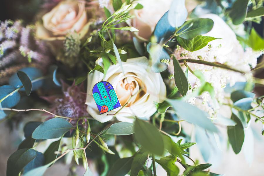 custom enamel pins for wedding!