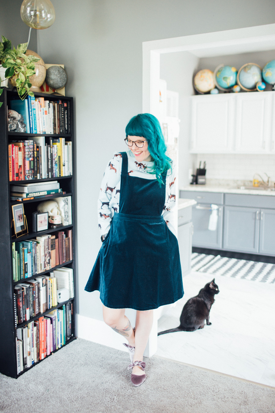 what I wore - the dainty squid