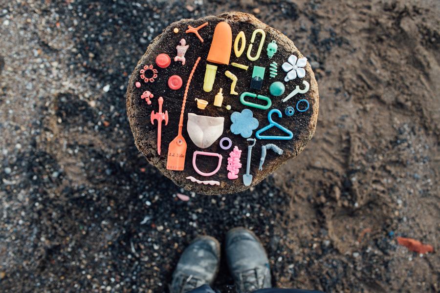 found on the beach