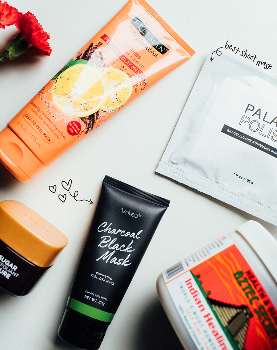 a few of my favorite face masks