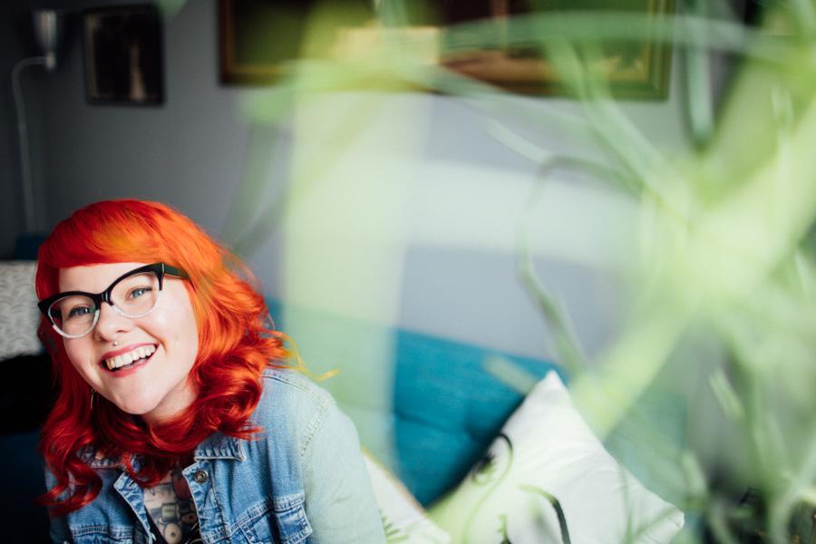 Kaylah Stroup orange hair
