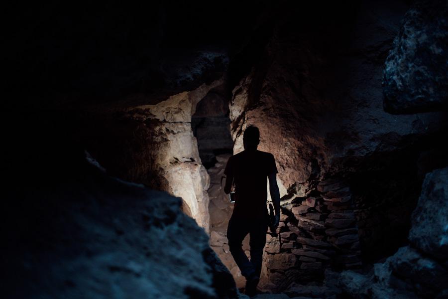Apache Death Cave. Two Guns, Arizona