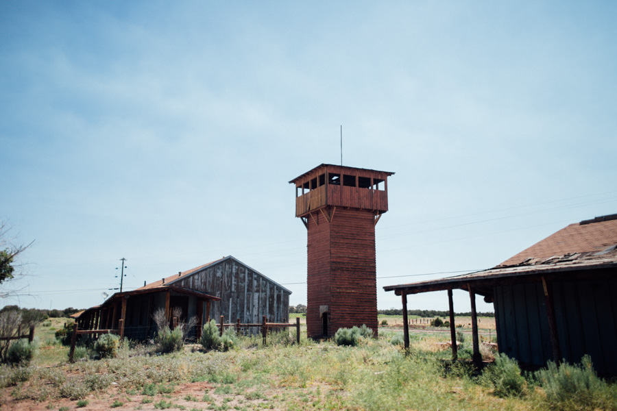 abandoned Fort Courage, AZ