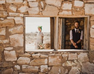 that time I got married in a ghost town...