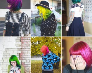 nine truths about having dyed hair